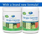 Mega Greens plus MSM™ Capsules or Powder