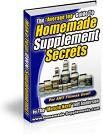 Homemade Supplement Secrets