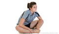 Sitting Feet-together Adductor Stretch
